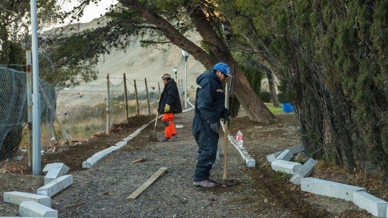 Los trabajos han modificado la fisonomía de varios sectores donde existían áreas verdes.