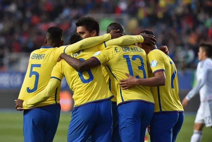 Ecuador necesita ganar  para meterse en cuartos