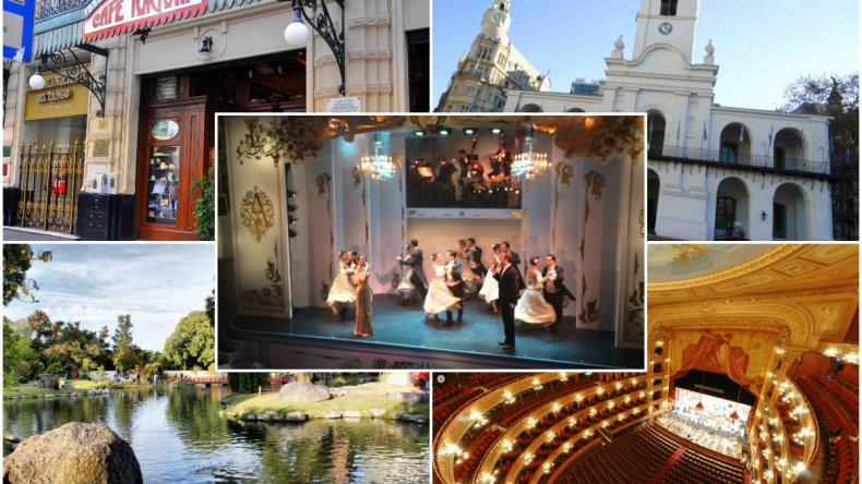 Top 5 los imperdibles de Buenos Aires