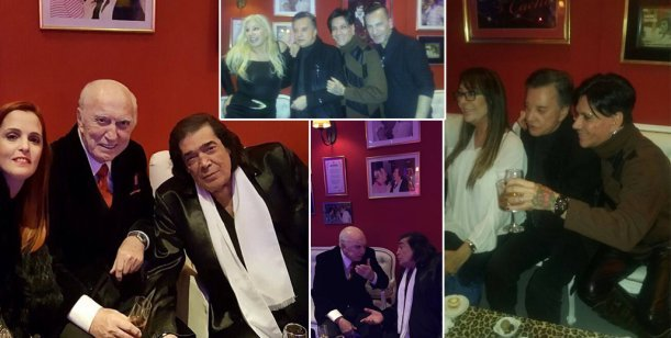 Cacho Castaña cumplió 74 años y lo celebró con Susana, Palito, Serra Lima y más...