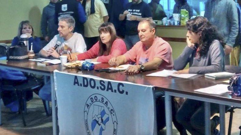 Durante el congreso que se realizó en Río Gallegos
