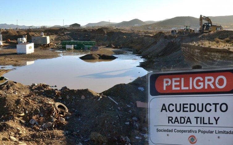 A la madrugada se restablecerá el agua en Rada Tilly