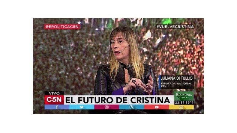 Di Tullio: Que Macri nos devuelva la plata que se llevó de los argentinos