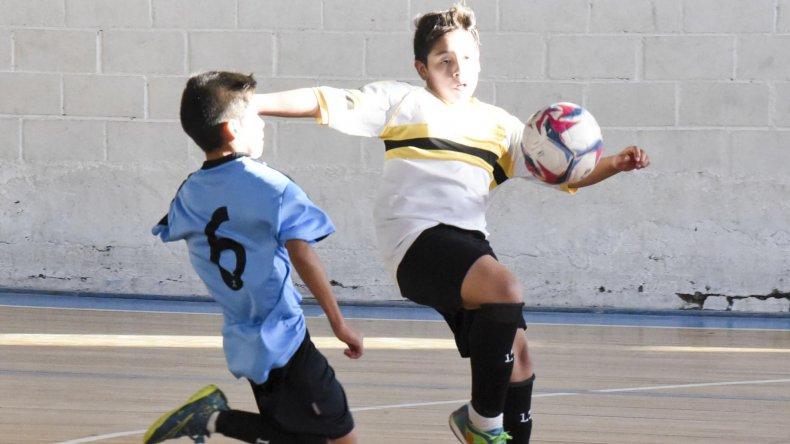 El fútbol infantil de la CAI disputó una nueva jornada en la sede azzurra.
