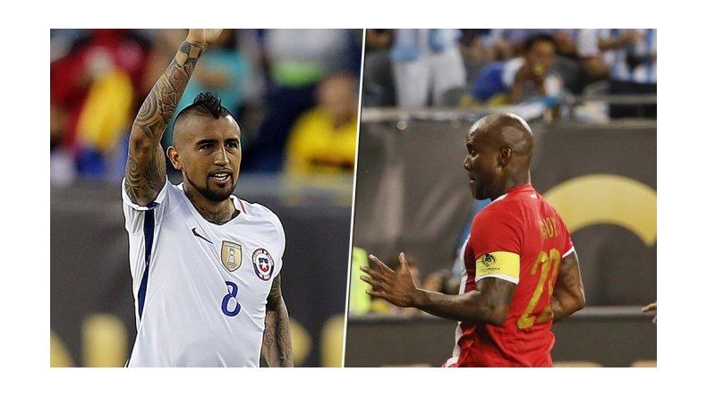 Chile y Panamá juegan un mano a mano por la clasificación a cuartos