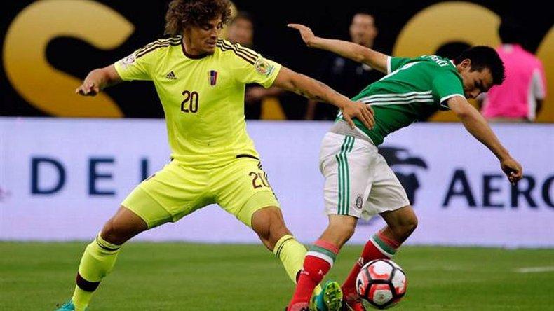 México igualó con Venezuela y se quedó con el Grupo C