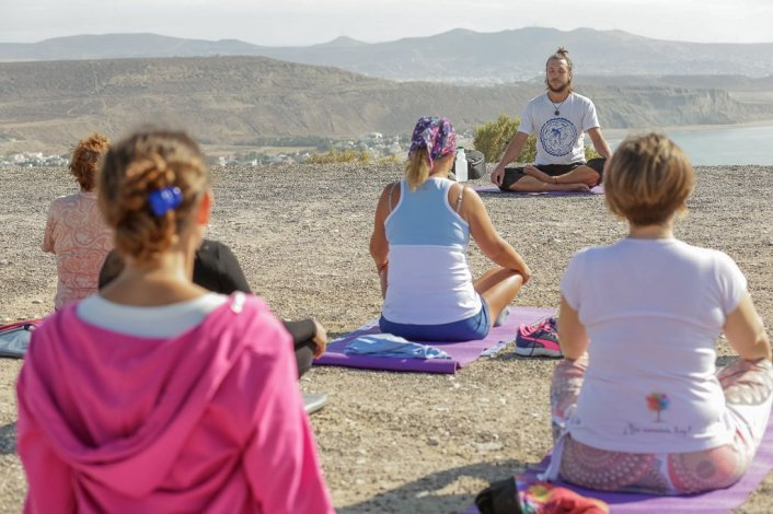 El próximo lunes Rada Tilly tendrá un Festival de Yoga Internacional