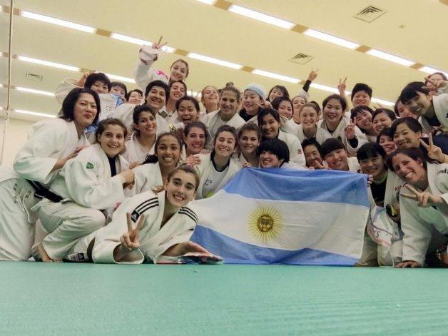 Dos comodorenses entrenaron en Japón