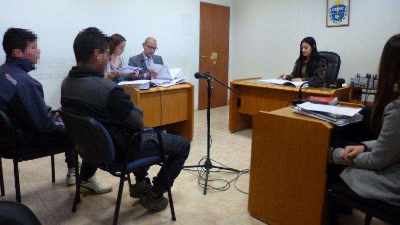 El rostro de los imputados fue cubierto por el MPF atento a la posibilidad de que deban atravesar una rueda de reconocimiento en el marco de la investigación en su contra