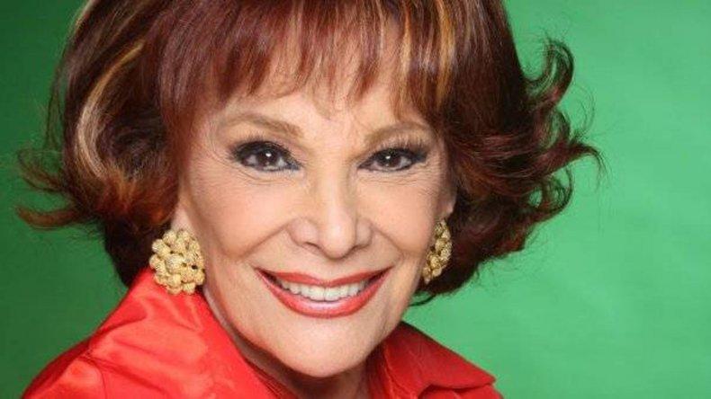 La actriz falleció ayer a los 84 años.