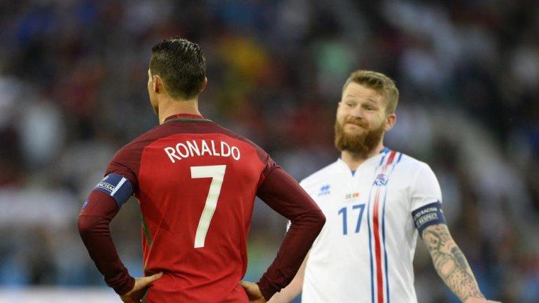 Islandia se llevó un empate histórico ante Portugal por la Eurocopa que se disputa en suelo francés.
