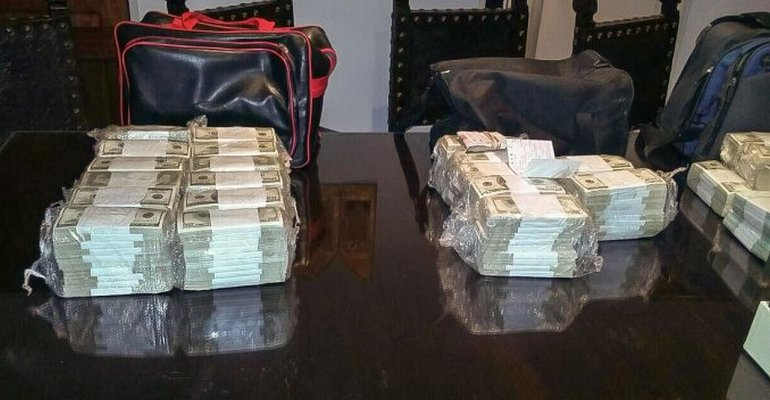 Terminaron de contar la plata que López quería enterrar: eran 8.982.000 dólares