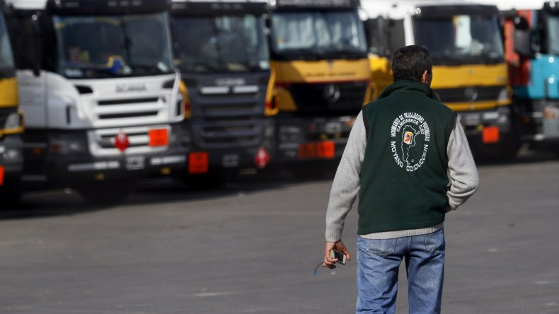 Esta tarde comienzan las asambleas de Camioneros