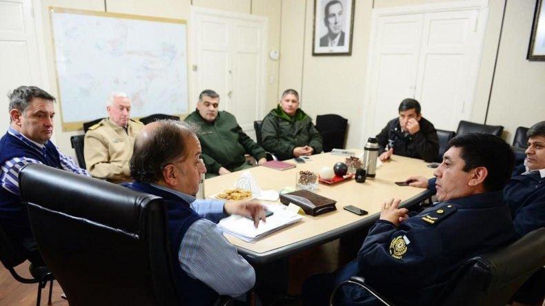 La reunión de autoridades municipales con representantes de la Policía