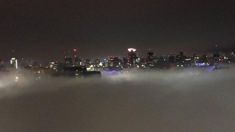 Dos vuelos cancelados a Comodoro por la niebla