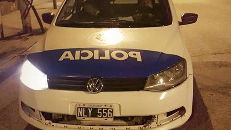Los policías fueron sorprendidos durmiendo en su horario de patrullaje.
