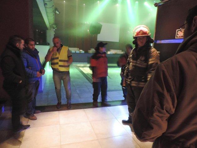 El simulacro realizado en las instalaciones de Ele Multiespacio.