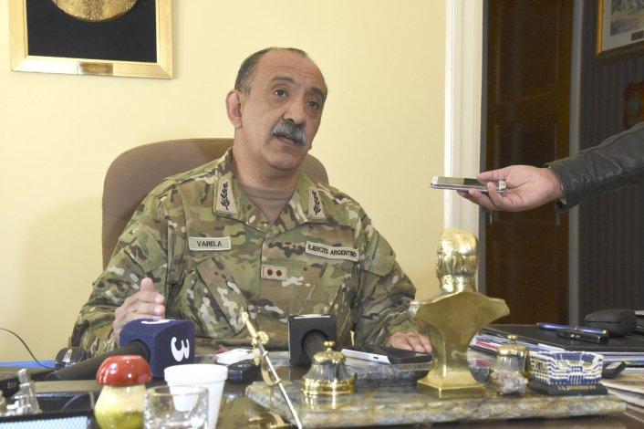 El general de Brigada Daniel Varela