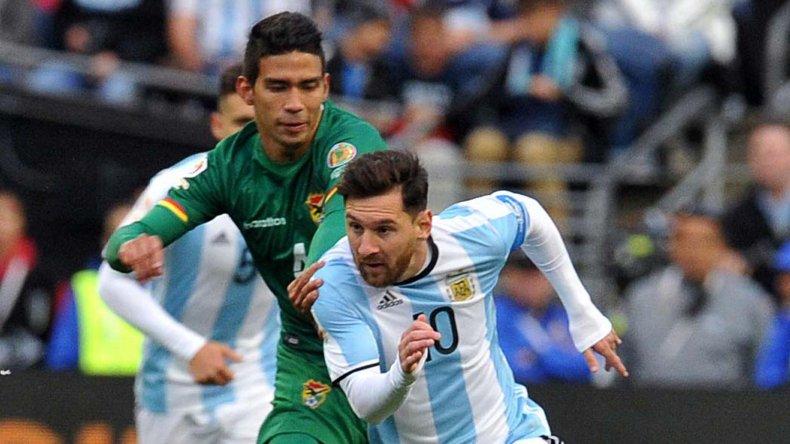 Lionel Messi jugará esta noche su primer partido como titular en la Copa América del Centenario.
