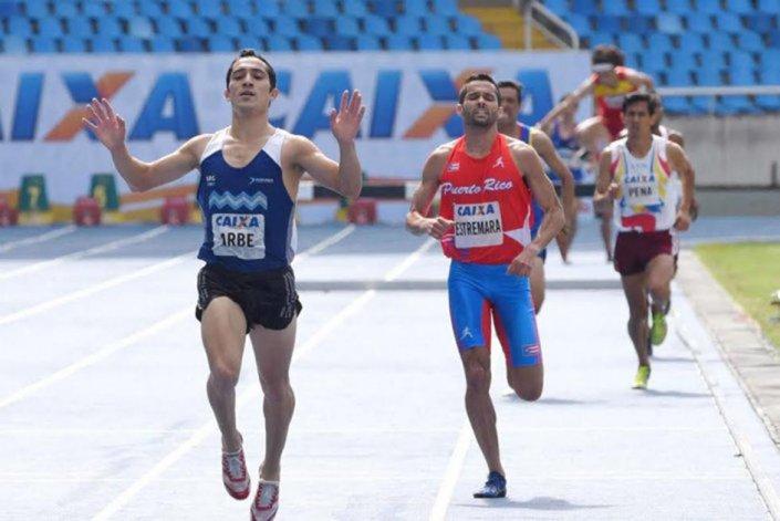 Joaquín Arbe viene de obtener una gran actuación en el Iberoamericano de Río donde se ubicó segundo.