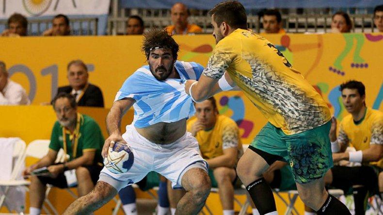 Argentina no pudo con Brasil y ya no podrá pelear por el título del Torneo Panamericano de hándbol.