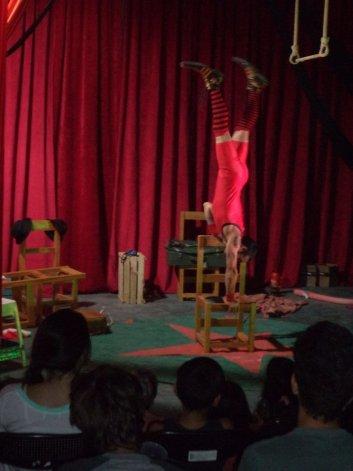 El circo tiene su lugar en este tipo de espacios.