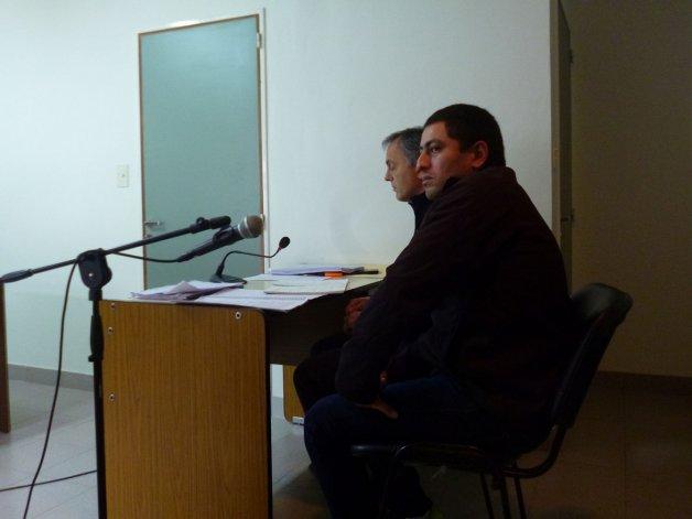 Víctor Hugo Alcaina ahora fue beneficiado con el arresto domiciliario y desde el jueves está en su casa.