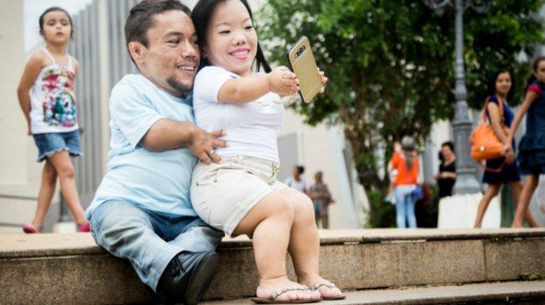 La pareja más pequeña del mundo ¿al Libro Guinness?