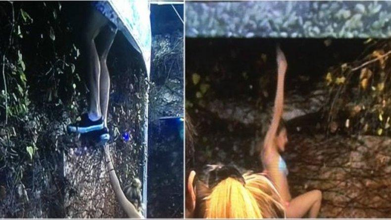 Marian y Dante de GH se escaparon de la casa: treparon el paredón y el canal cortó la transmisión