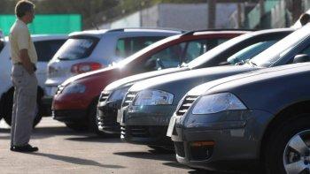 santa cruz es una de las provincias donde mas bajo la venta de autos usados