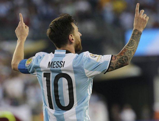 Lionel Messi alcanzó a Gabriel Batistuta como goleador histórico de la selección argentina con 54 conquistas.