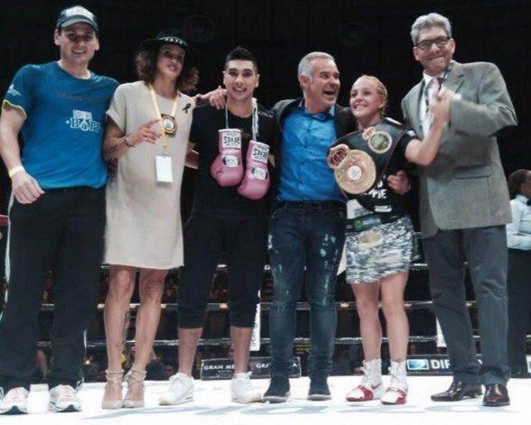 La Tuti Bopp sigue reinando en la categoría Minimosca de la Asociación Mundial de Boxeo.