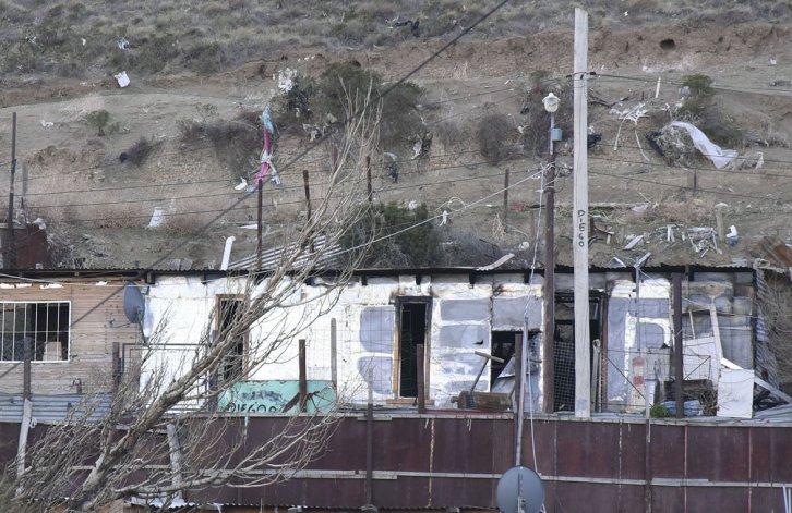 La casa que servía de aguantadero según los vecinos del sector