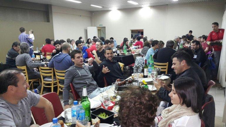 Con una cena de camaradería concluyó el domingo el II Torneo Patagónico de Pelota a Paleta en el TyPAC.