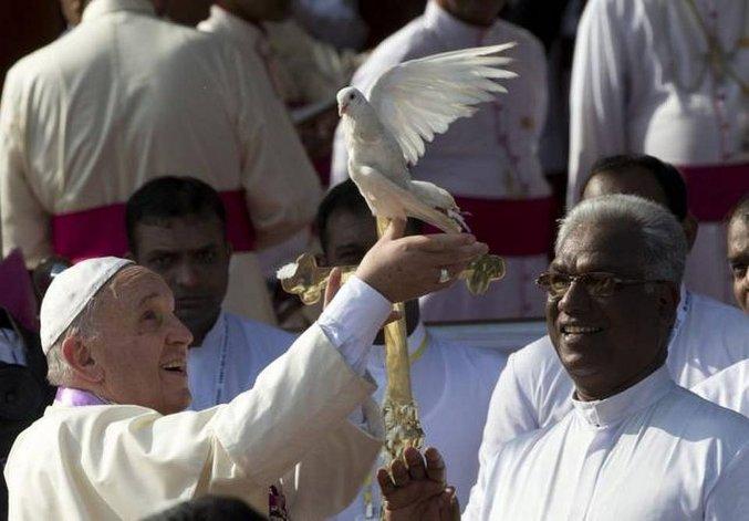 El Papa liberará dos palomas blancas en su visita a Armenia
