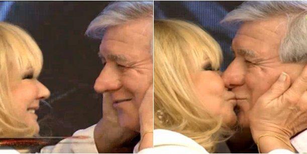 ¡Amor botinero: el pico de Soledad Silveyra a Carlos Pachamé en la pista de Showmatch