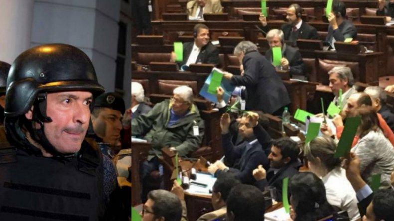 El Parlasur no suspendió ni expulsó a López  por el escándalo en el convento