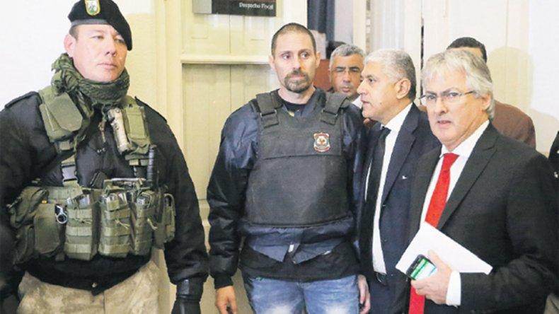 Perez Corradi no quiere volver al país.