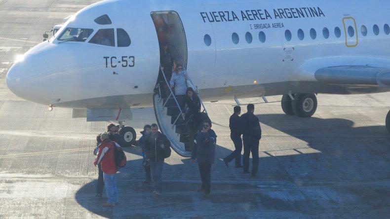 LADE reinició sus actividades a la Patagonia uniendo Comodoro Rivadavia con cinco ciudades.