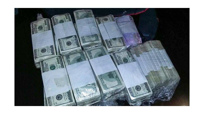 Analizarán el dinero hallado en poder de López y sus llamadas telefónicas