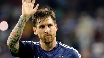 Premio al mérito. Con esa premisa, Messi se refirió al momento que vive la selección nacional.