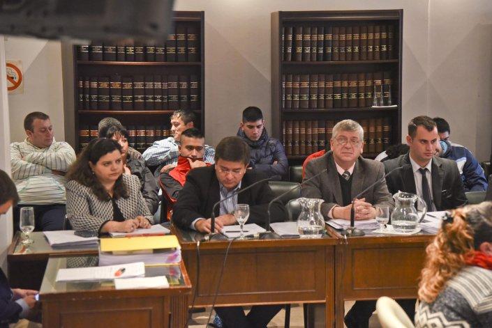 En el juicio contra los narco Apadrinados que se sigue en el Tribunal Oral Federal de Comodoro Rivadavia