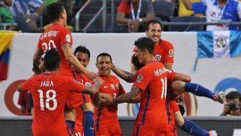 Chile fue una tromba en los primeros minutos ante Colombia.