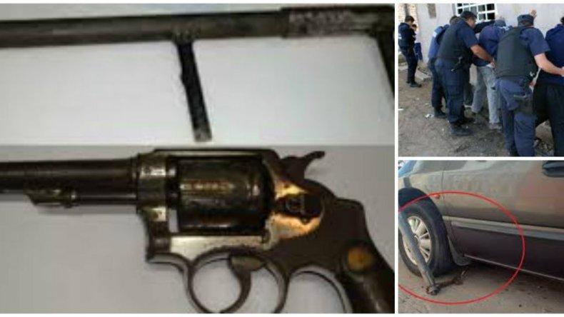 Secuestraron 49 armas, robaron 80 autos y hubo más de 400 detenidos en 6 meses