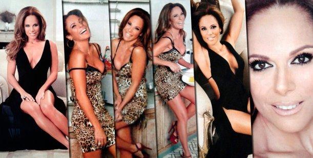 La producción sensual de Iliana Calabró: A los 15 era horrible, me decían que era medio gordita