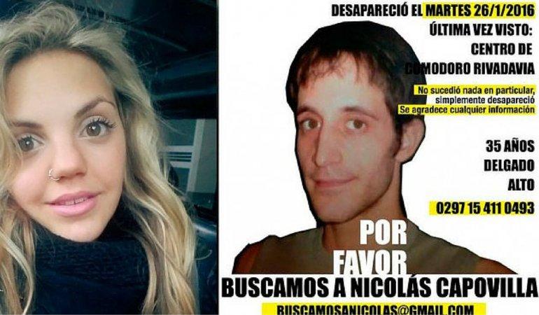 La hermana famosa de Nicolás Capovilla y su pedido desesperado a los medios