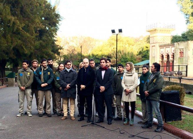 Rodríguez Larreta anunció el cierre del zoológico porteño.