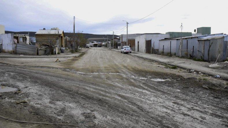 La calle en la que se encuentra la vivienda en la que se produjo el robo.