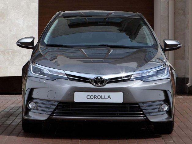 Toyota presentó el Corolla 2017