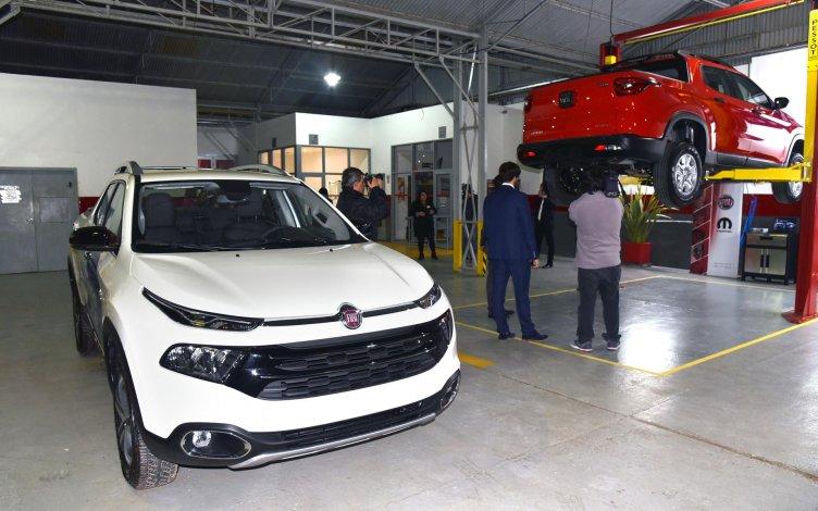 La Fiat Toro ya está lista para rodar por los caminos patagónicos.